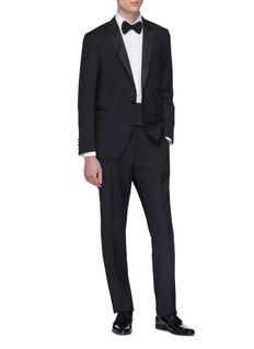 Lanvin Wool-mohair suit