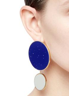 Joanna Laura Constantine 'Monochrome Statement' disc drop earrings