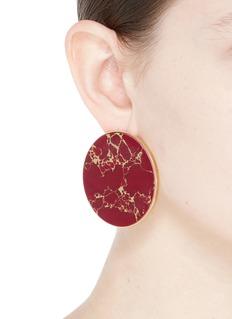 Joanna Laura Constantine 'Monochrome' mismatched earrings