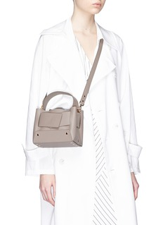 Yuzefi 'Dinky' foldover panel leather bag