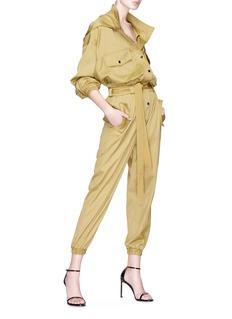 Situationist Hooded jumpsuit