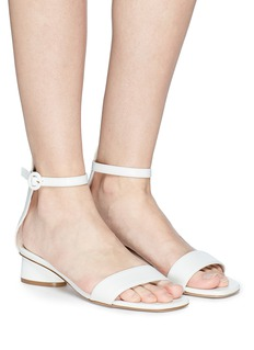 Stuart Weitzman 'Kiwi' leather sandals