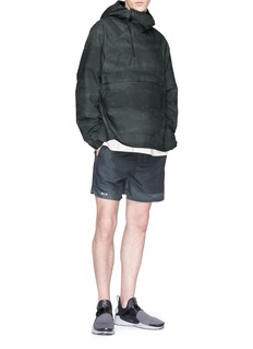 SIKI IM CROSS Packable hooded anorak