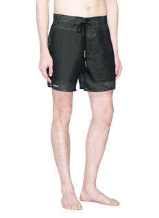 SIKI IM CROSS Front pocket swim shorts