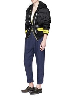 Haider AckermannOversized cotton zip hoodie