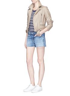 Frame Denim'Nouveau Le Mix' denim shorts