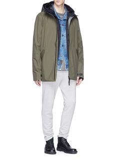 Canada Goose 'Cabri' hooded down puffer bomber jacket