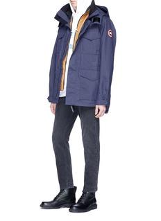 Canada Goose 'Voyager' detachable hood windbreaker coat
