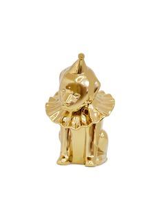 WOWALL 小狗王子陶瓷雕塑-金色