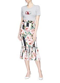 Dolce & Gabbana Sequinned logo T-shirt