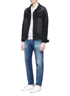 Jason Denham Collection 'Razor' washed selvedge jeans