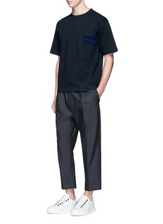 Marni Patch pocket double faced T-shirt