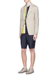 TomorrowlandDrawstring waist taffeta shorts