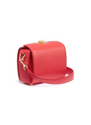 Figure View - Click To Enlarge - Alexander McQueen - 'Box Bag 19' in fine grain leather