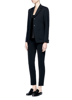 The Row'Leony' neoprene blazer