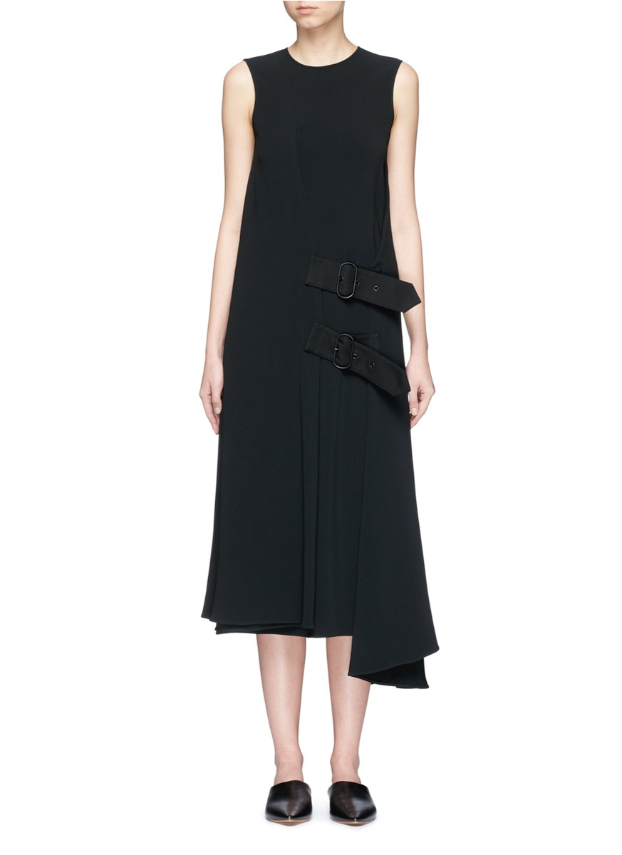Scilla belted wrap dress by Acne Studios