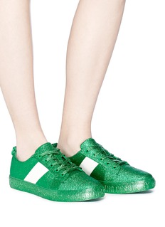 Opening Ceremony 'La Cienega' colourblock glitter sneakers