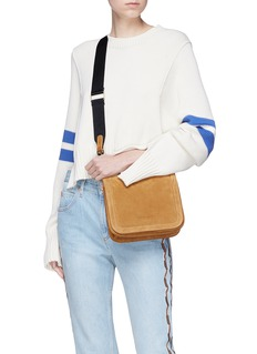 Creatures Of Comfort 'Equestrian' suede crossbody bag