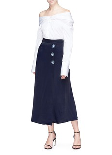 Christopher Esber Button skirt