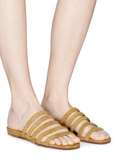Creatures Of Comfort 'Como' suede slide sandals
