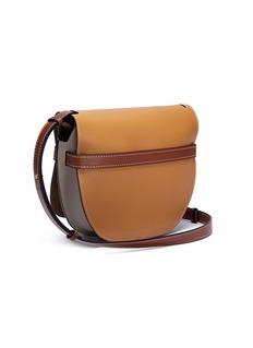 Loewe 'Gate' colourblock leather saddle bag