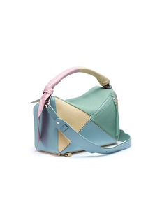 Loewe 'Puzzle Wrap' colourblock leather bag