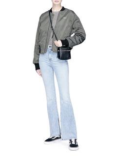 rag & bone/JEAN 'Bella' split cuff flared jeans