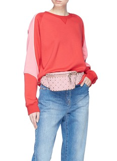 Valentino 'Free Rockstud Spike' leather belt bum bag