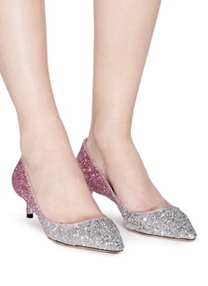 Jimmy Choo 'Romy 40' dégradé coarse glitter pumps