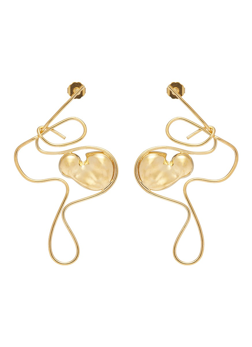 Womens Free Form Earring Mounser 7Dj2NKbb
