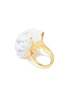 Kenneth Jay Lane Floral ring