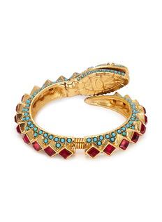Kenneth Jay Lane Embellished snake bracelet