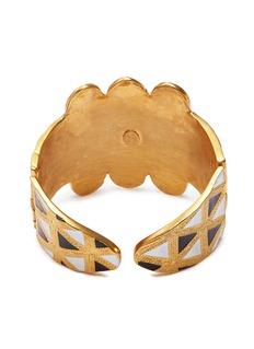 Kenneth Jay Lane Geometric pattern bracelet