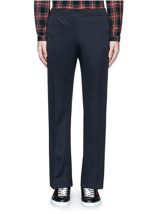 Main View - Click To Enlarge - Gucci - Stripe trim jogging pants