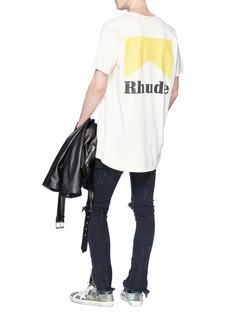 RHUDE 'Cigarette' logo print T-shirt