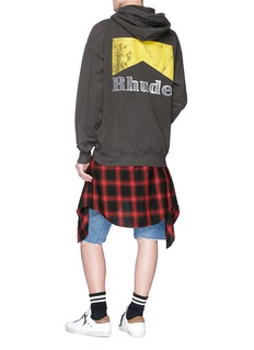 RHUDE 'Cigarette' logo print hoodie