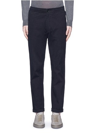 Main View - Click To Enlarge - PS by Paul Smith - Standard fit drawstring corduroy pants