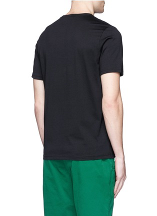 Back View - Click To Enlarge - PS by Paul Smith - 'Tablet' print cotton T-shirt