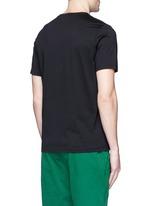 'Tablet' print cotton T-shirt