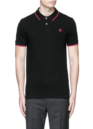 Main View - Click To Enlarge - PS by Paul Smith - Slim fit polo shirt