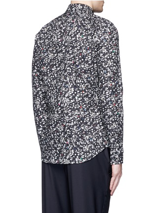 Back View - Click To Enlarge - PS by Paul Smith - 'Paper Dot' print cotton shirt