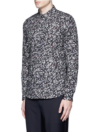 Front View - Click To Enlarge - PS by Paul Smith - 'Paper Dot' print cotton shirt