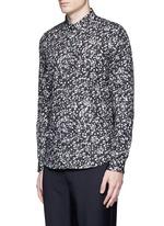 'Paper Dot' print cotton shirt
