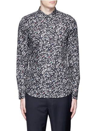 Main View - Click To Enlarge - PS by Paul Smith - 'Paper Dot' print cotton shirt