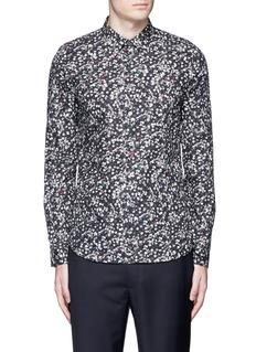PS by Paul Smith'Paper Dot' print cotton shirt