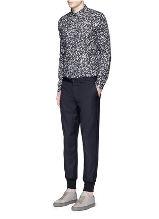 Figure View - Click To Enlarge - PS by Paul Smith - 'Paper Dot' print cotton shirt
