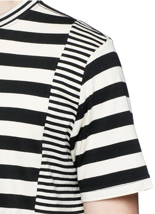 Detail View - Click To Enlarge - PS by Paul Smith - Stripe cotton T-shirt