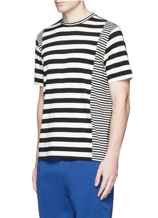 Front View - Click To Enlarge - PS by Paul Smith - Stripe cotton T-shirt