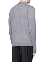 Merino wool cardigan