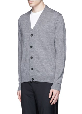 Front View - Click To Enlarge - PS by Paul Smith - Merino wool cardigan